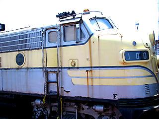 No 100 yellow train
