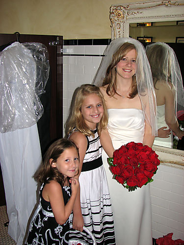 Al with Bailey and Emily in ladies room before wedding edit 1