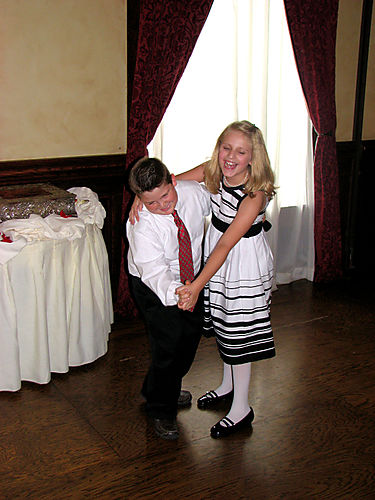 John and Bailey dance Bailey laughs edited